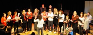 Seven Jazz Voices choir