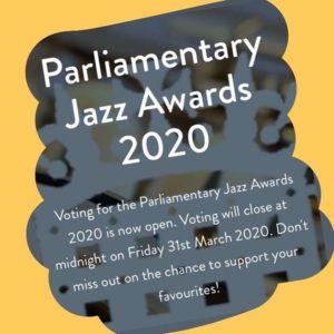 Parliamentary Jazz Awards 2020 - northernjazzpromoters.org