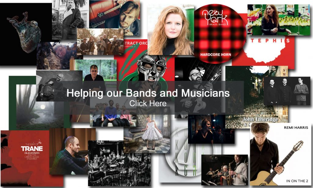 Helping our Bands and Musicians
